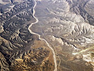 Cuyama Valley - Rugged terrain surrounding the Cuyama Valley