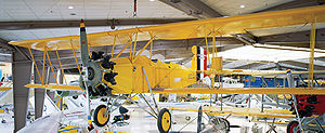 Curtiss Fledgling - A Curtiss N2C-2 at the National Museum of Naval Aviation