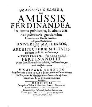 Albert Curtz - Amussis Ferdinandea, 1662