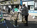 Cyclists discussing tactics in The Square - geograph.org.uk - 1251737.jpg
