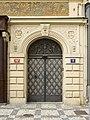 Czech-2013-Prague-V.J. Rott building (Door).jpg