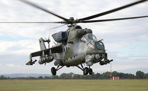 Czech Mi-24.