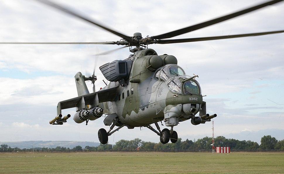 Czech Mi-24 CIAF