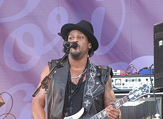 D'Angelo - D'Angelo performing in Finland, 2012