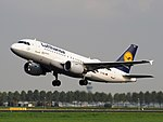 D-AIBJ Lufthansa Airbus A319-112, takeoff from Schiphol (EHAM-AMS) runway 36L pic1.JPG