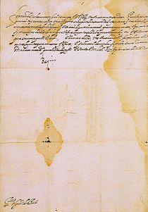 D. João IV - Carta manuscrita (1647).jpg