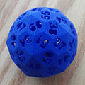 D60 pentagonal hexecontahedron dice.JPG