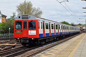 London Underground D78 Stock - Image: D78 West Ham