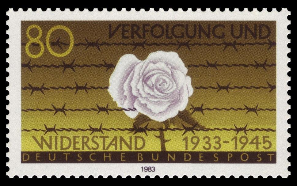 DBP 1983 1163 Verfolgung und Widerstand