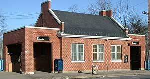 Oakwood Heights (Staten Island Railway station) - Exterior of Oakwood Heights SIR Station