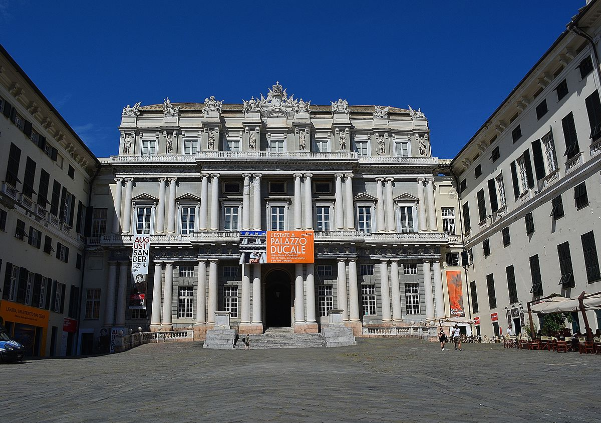 Palazzo Ducale Genova Wikipedia