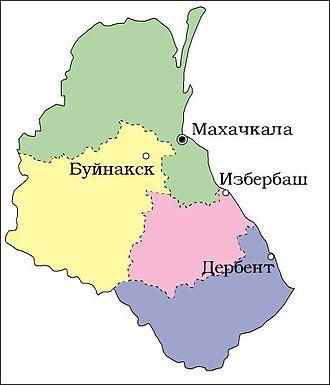 Dagestan Autonomous Soviet Socialist Republic - Image: Dagestan 1953