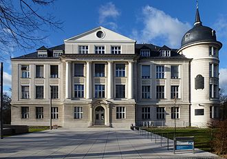 Kaiser Wilhelm Society - Former Kaiser-Wilhelm-Institut for Chemistry in Berlin, the place at which nuclear fission was detected