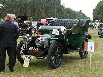 Edward Manville - Daimler car 1903