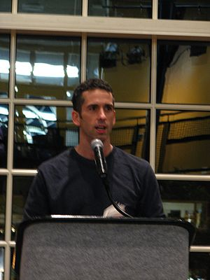 Syndicated sex advice columnist Dan Savage tal...