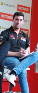 Dan Cammish British racing driver