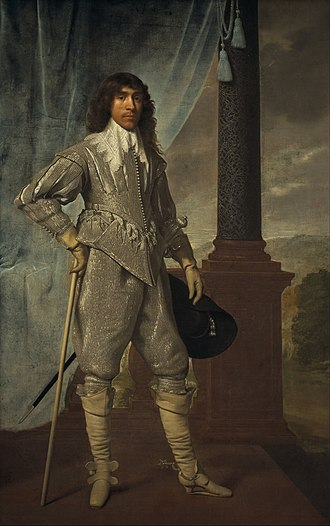 Daniël Mijtens - James Hamilton, Marquess of Hamilton in 1629.