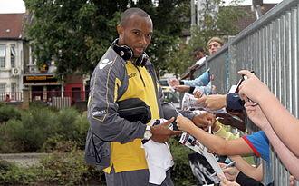 Danny Gabbidon - Danny Gabbidon signing autographs at Boleyn Ground, Upton Park, August 2010