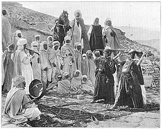 Ouled Naïl Range - Ouled Nail people dancing.