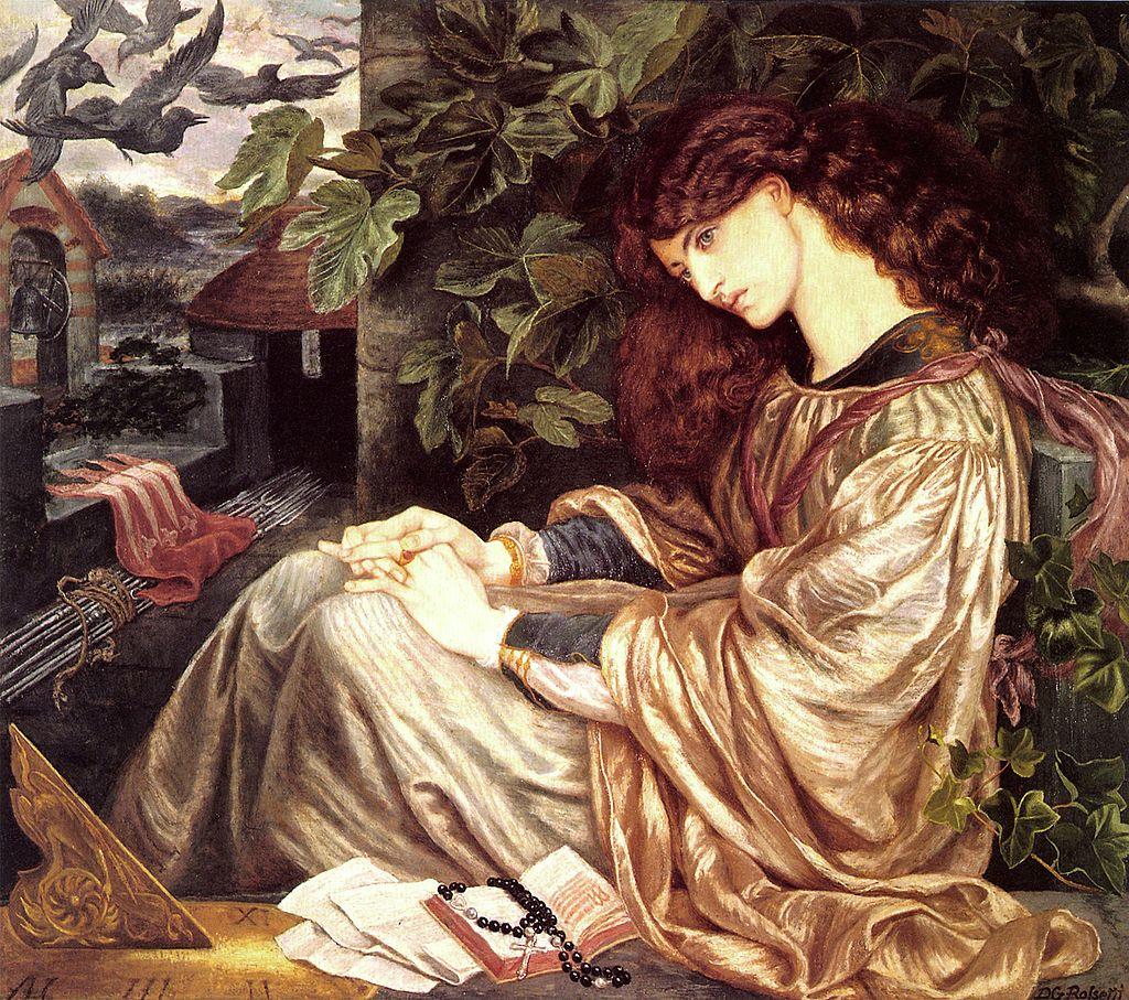 Dante Gabriel Rossetti - La Pia de Tolomei 03