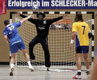 Handball goalkeeper - Daouda Karaboué