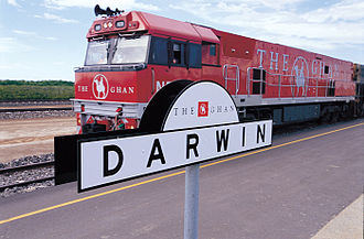 Across Australia By Train Travel Guide At Wikivoyage