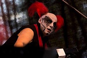 Das Ich - Bruno Kramm at the 10. Nocturnal Culture Night festival (2015)