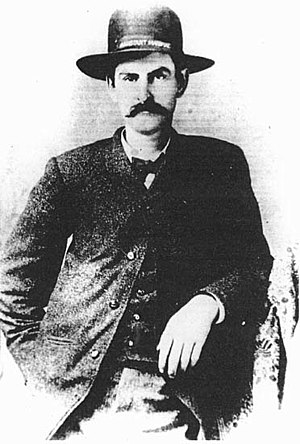 "Mysterious Dave Mather - David Allen ""Mysterious Dave"" Mather posed for his only known photograph sometime during his term as Assistant Marshal of Dodge City (June 1, 1883 – April 10, 1884)"