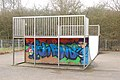 Daventry, skateboard ramp in Tovey Drive playing field - geograph.org.uk - 1753156.jpg