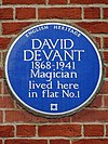 David Devant 1868-1941 Magician lived here in Flat No.1.jpg