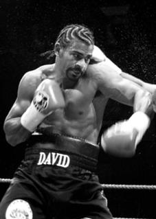David Haye British boxer