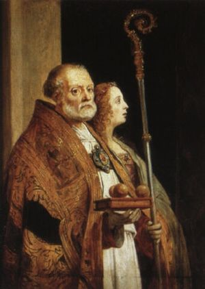 St. Nicholas of Bari and the Magdalene