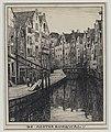 De Achterburgwal te Amsterdam, RP-T-1926-117.jpg