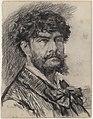 De dichter Jean Richepin, James Ensor, circa 1880-1890, Koninklijk Museum voor Schone Kunsten Antwerpen, 2711 121.001.jpeg