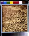 Dead Confederate soldier, in trenches of Fort Mahone in front of Petersburg, Va., April 3, 1865 LCCN92504596.jpg