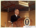 Dec 22, 1963 President Johnson at podium.jpg