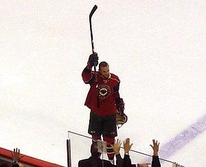 The Minnesota Wild's Marián Gáborík waving to ...