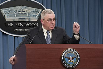 John Abizaid - Abizaid briefs the press on the findings of the Dover Port Mortuary Independent Review in the Pentagon in 2012