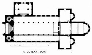 Goslar Cathedral - Image: Dehio 47 Goslar Dom