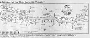 Fort Beversreede - Image: Delaware river chart 1655