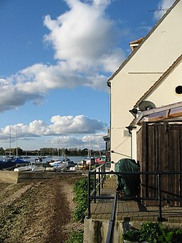 Dell Quay and the corner of the Crown and Anchor - geograph.org.uk - 1021977