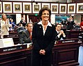 Denise Grimsley is lauded as she was thanked by Speaker Dean Cannon.jpg