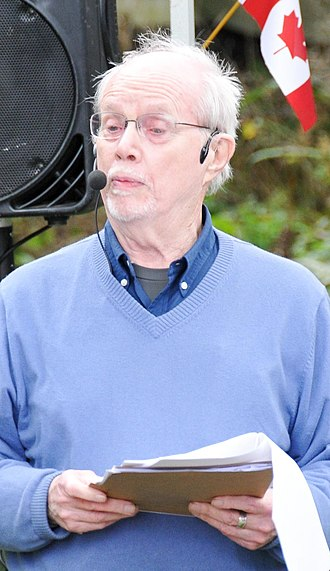 Dennis Lee (author) - Lee at the Eden Mills Writers' Festival in 2018