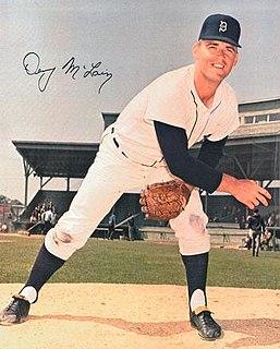 Denny McLain Major League Baseball pitcher