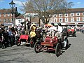 Dense crowds watching a vintage display at The Square - geograph.org.uk - 1251524.jpg