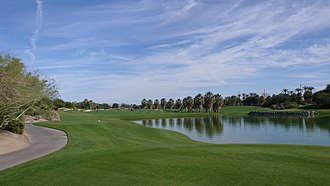 Palm Desert, California - Desert Willow Golf Course