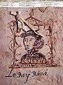 Dessin du roi Réné dans un registre des archives de Tarascon.jpg