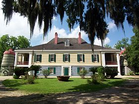 La plantation Destrehan.