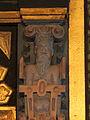 Detalje fra altertavle (Mælum Kirke).JPG