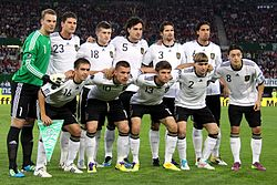 Футбол сборная германии история